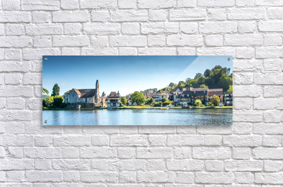 Beaulieu-sur-Dordogne  Acrylic Print