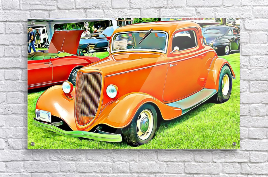 hot rod classic car   Acrylic Print