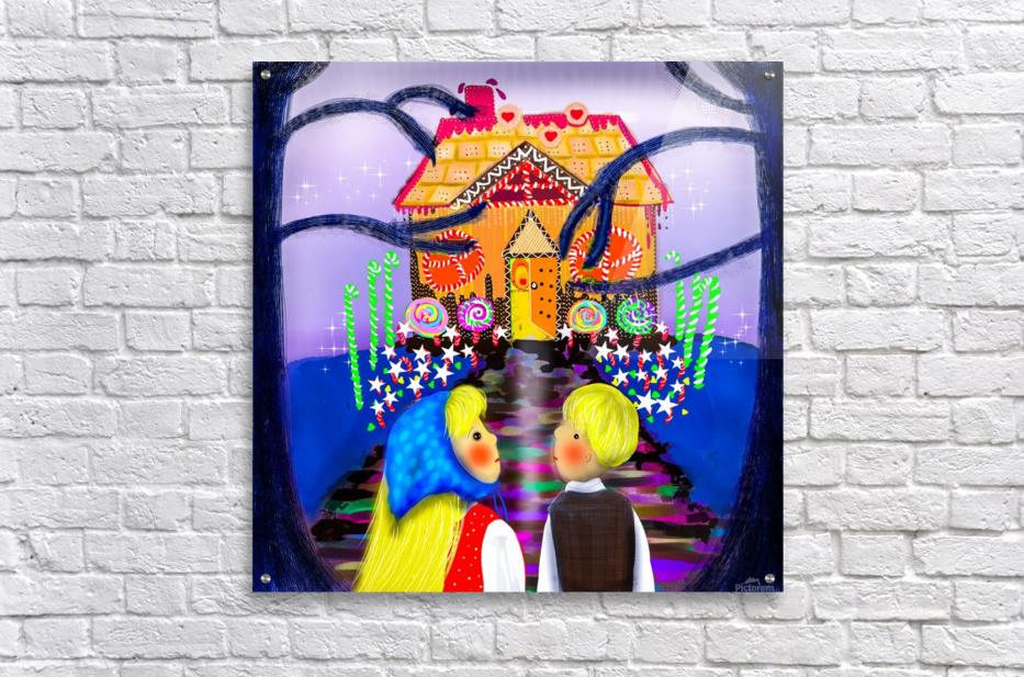 Hansel and Gretel  Acrylic Print