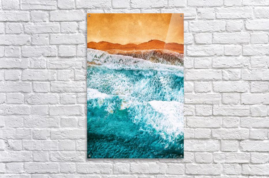 Tropical VI - Beach Waves II   Acrylic Print