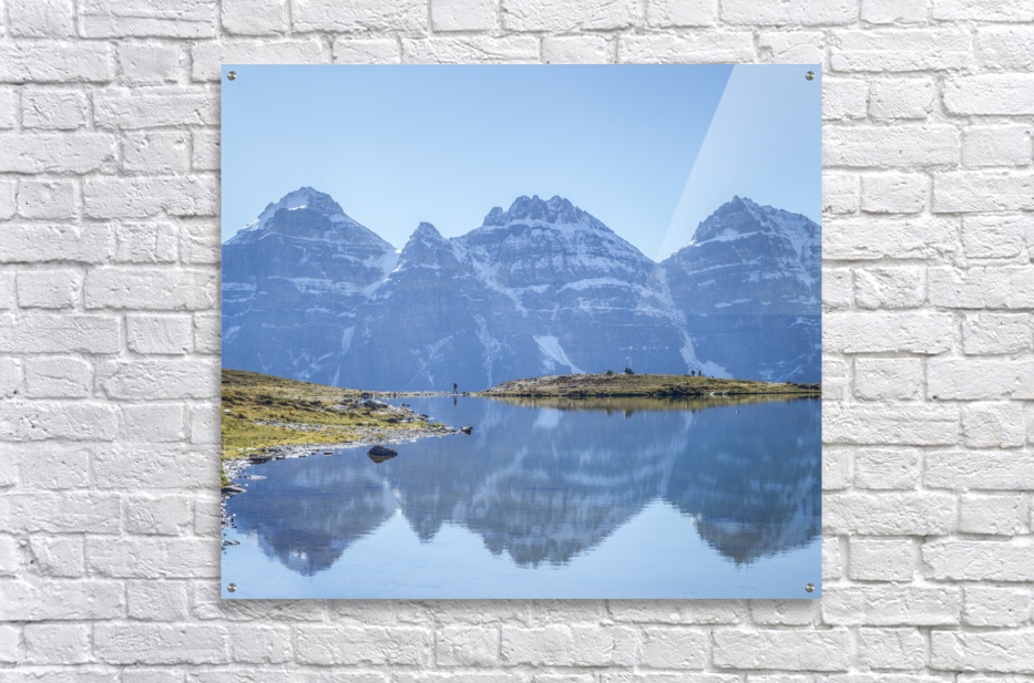 Mountain diaries  Acrylic Print