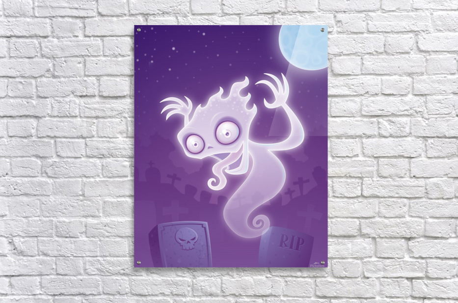 Ghost in the Graveyard  Acrylic Print