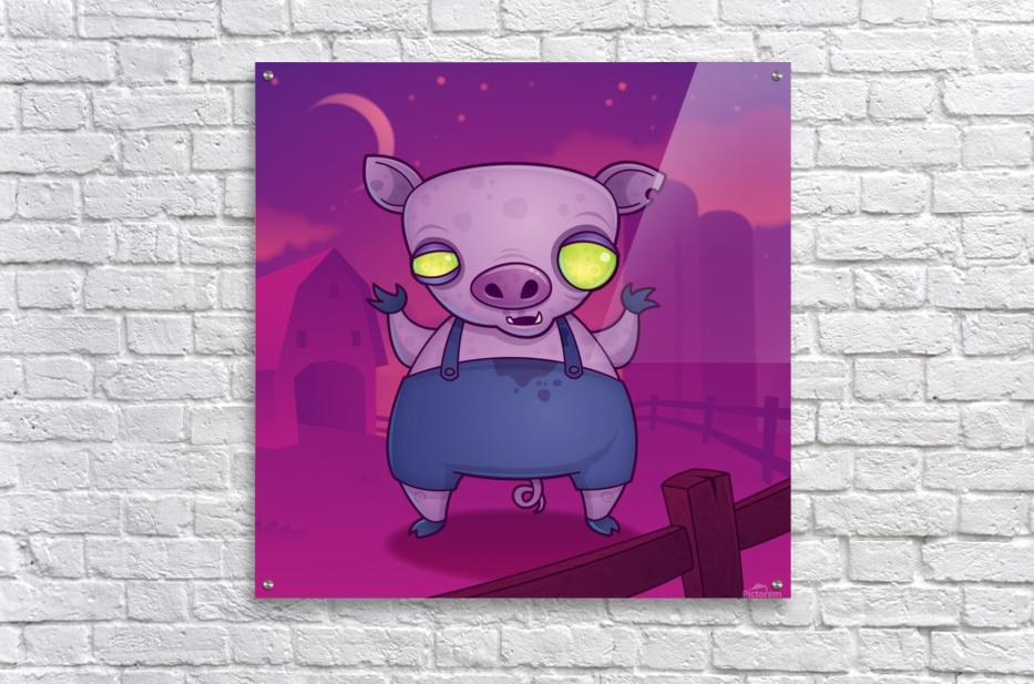 Zombie Pig  Acrylic Print