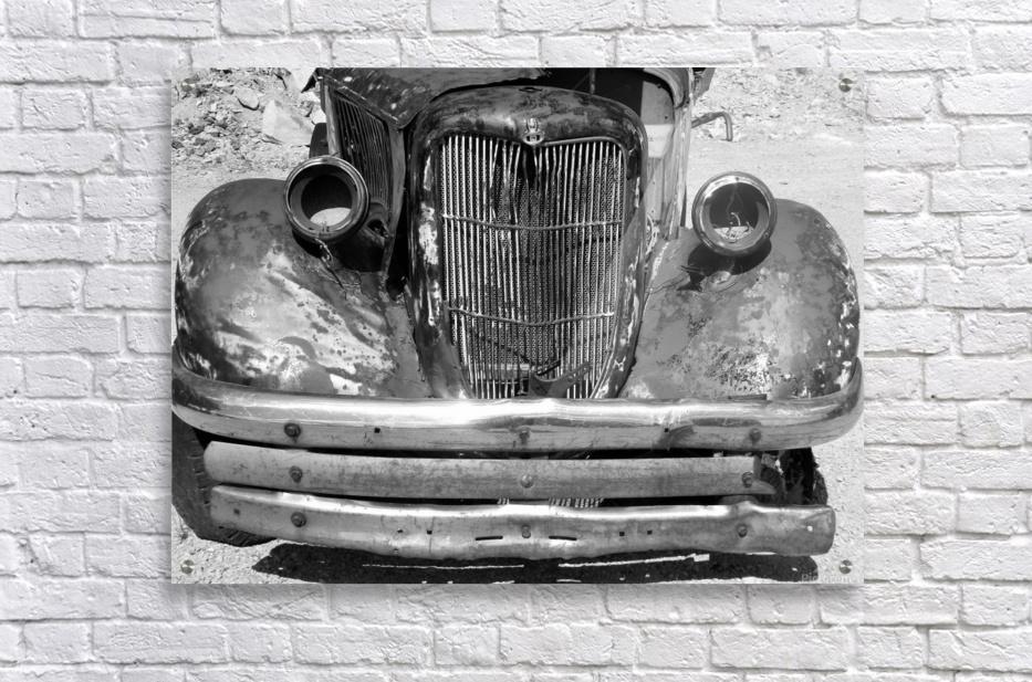 Rusty Old Truck B&W  Acrylic Print