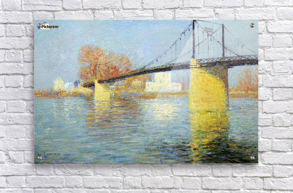 The Banks of the Seine, Triel  Acrylic Print