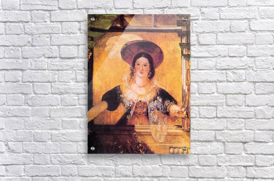 Jessica by Joseph Mallord Turner  Acrylic Print