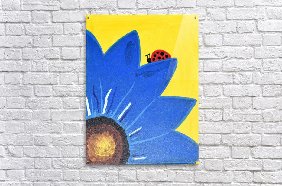 Blue Lady Bug. Maggie Z  Acrylic Print
