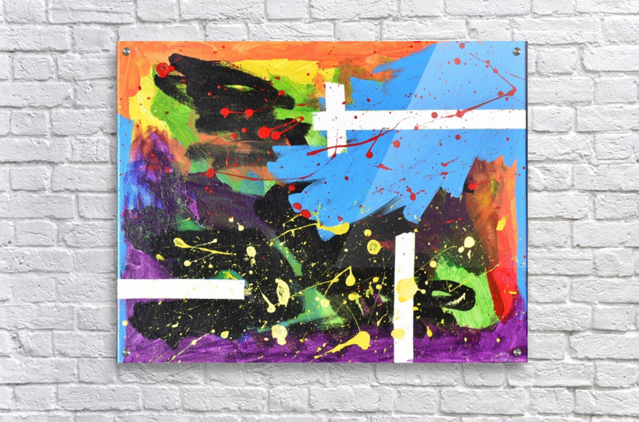 Bright Abstract. Walker W.  Acrylic Print