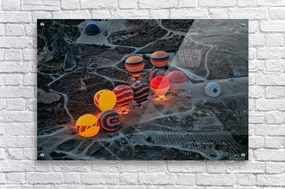 Flight preparation  Acrylic Print