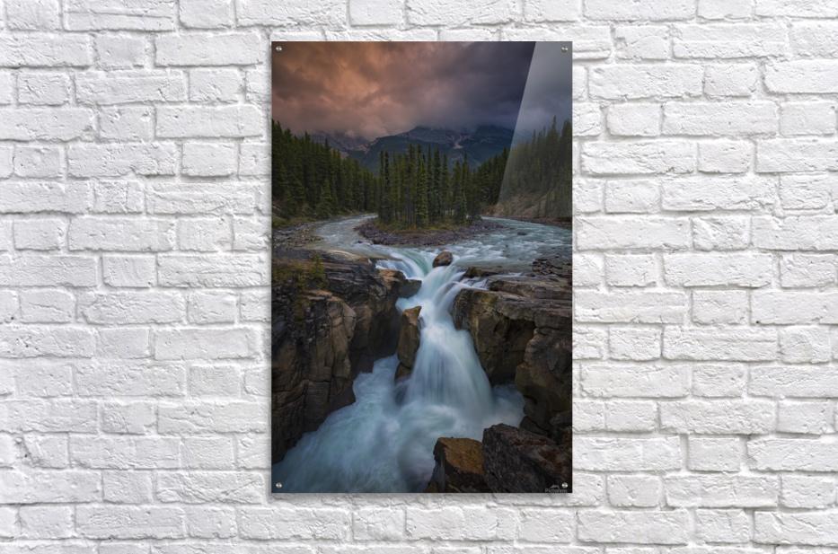 Sunwapta Falls  Acrylic Print