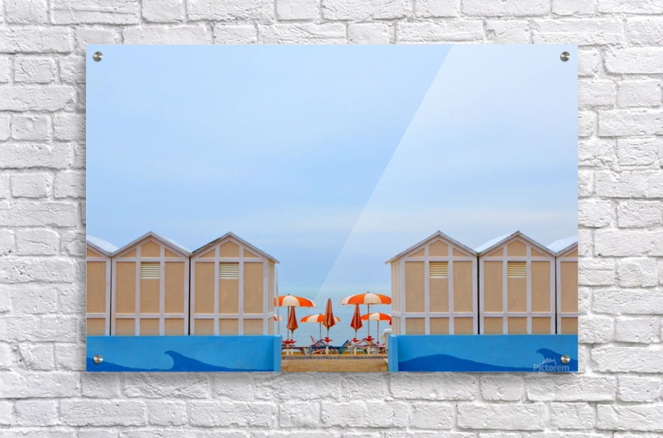 Ombrelloni  Acrylic Print