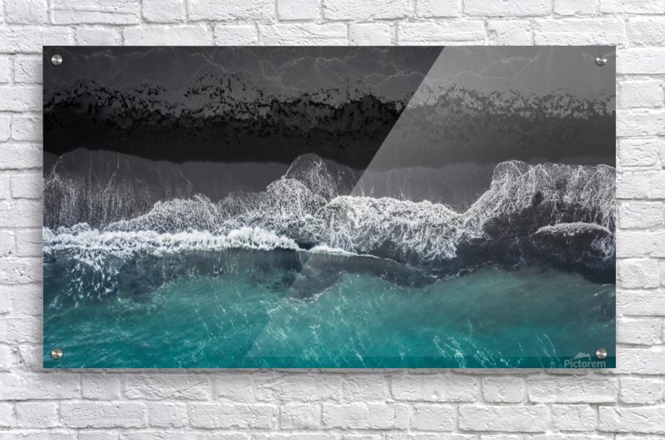 black beach  Acrylic Print
