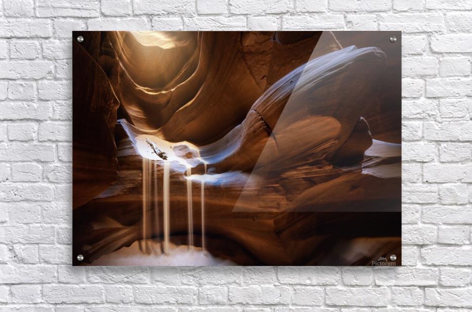 Antelope Waterfall  Acrylic Print
