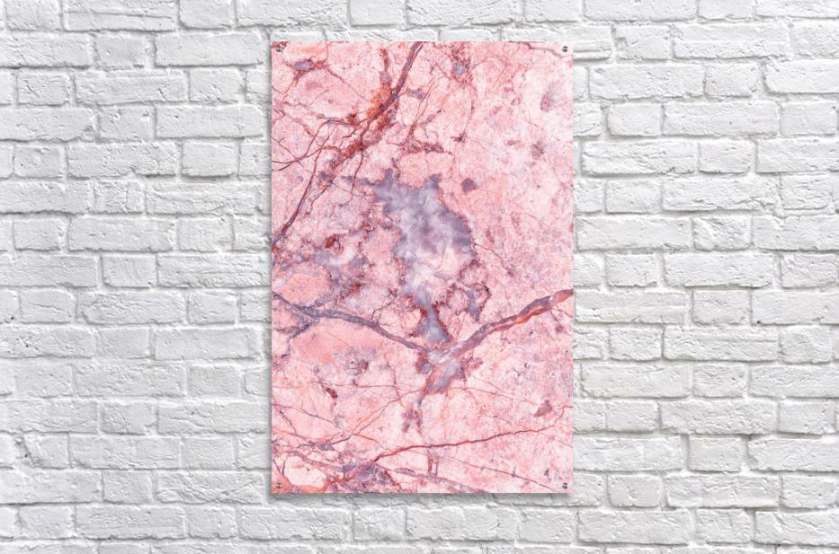 Pink Marble  Acrylic Print
