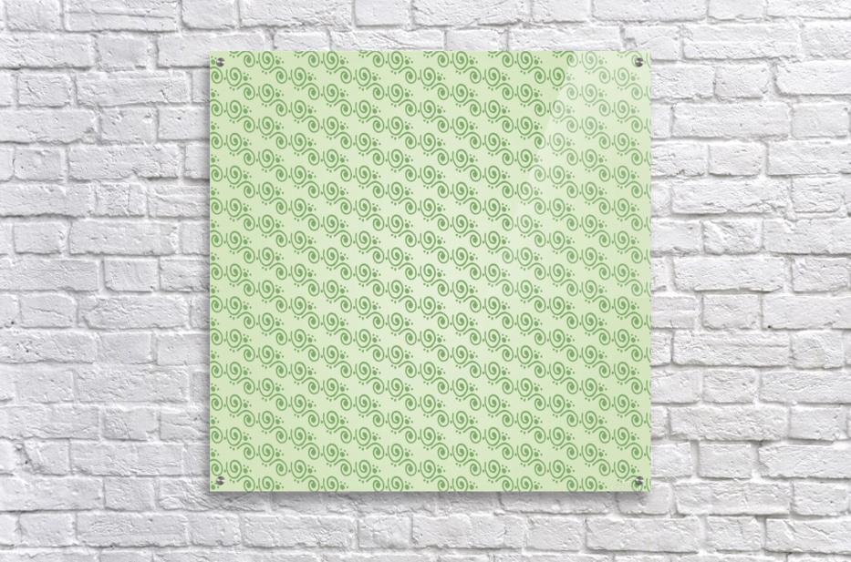 Green Hand Art Design  Acrylic Print
