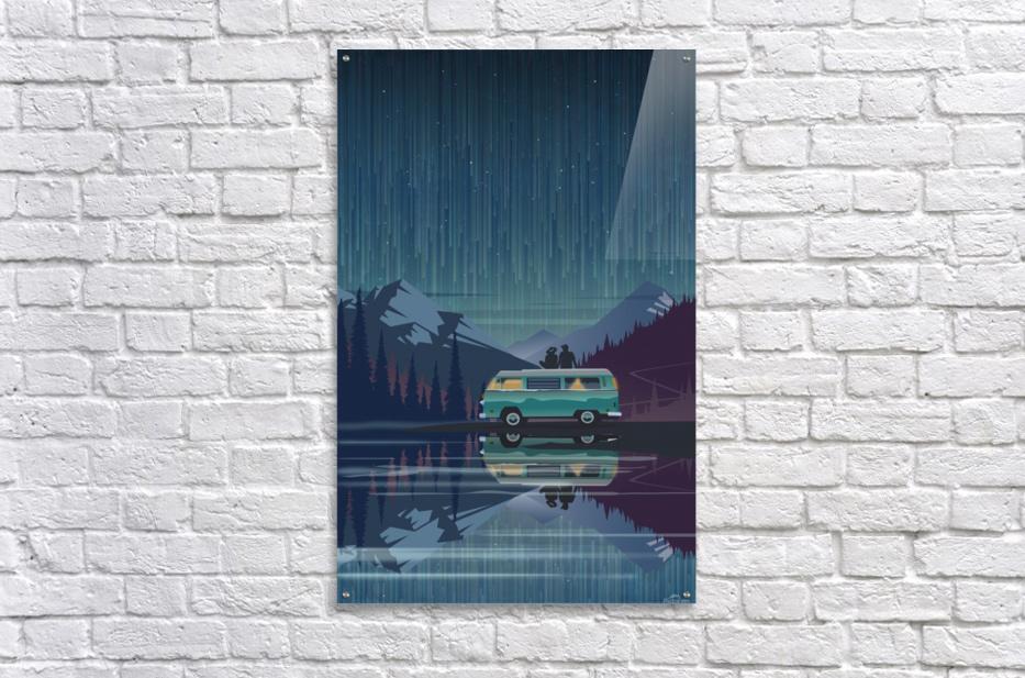 Vanlife under the stars  Acrylic Print