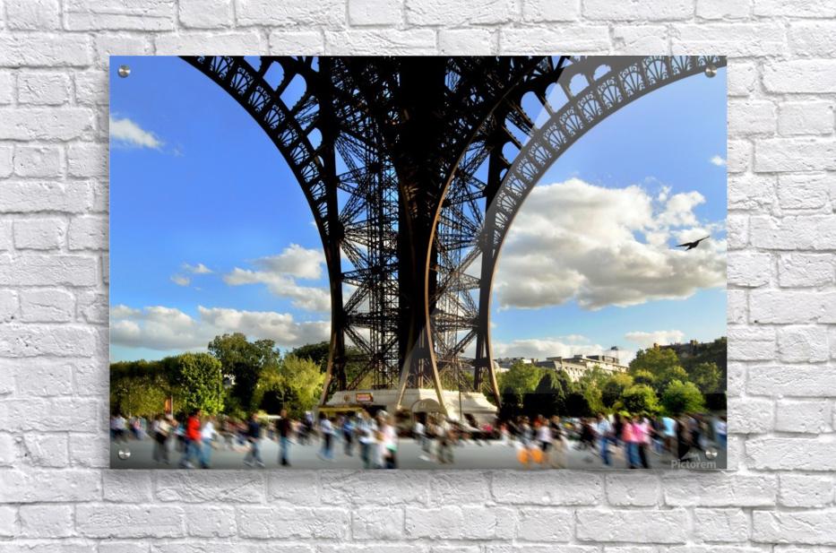 Life under the Eiffel Tower  Acrylic Print