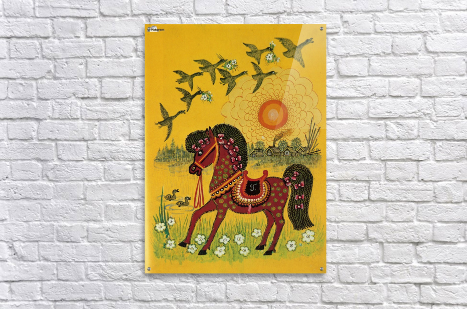Vasnetsov horse  Acrylic Print