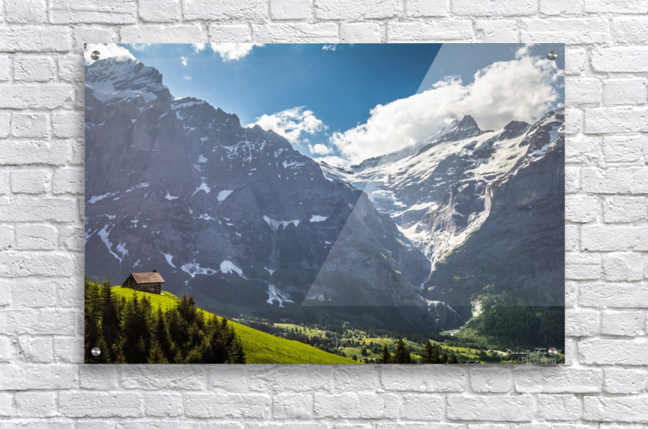 Hut Overlook  Acrylic Print
