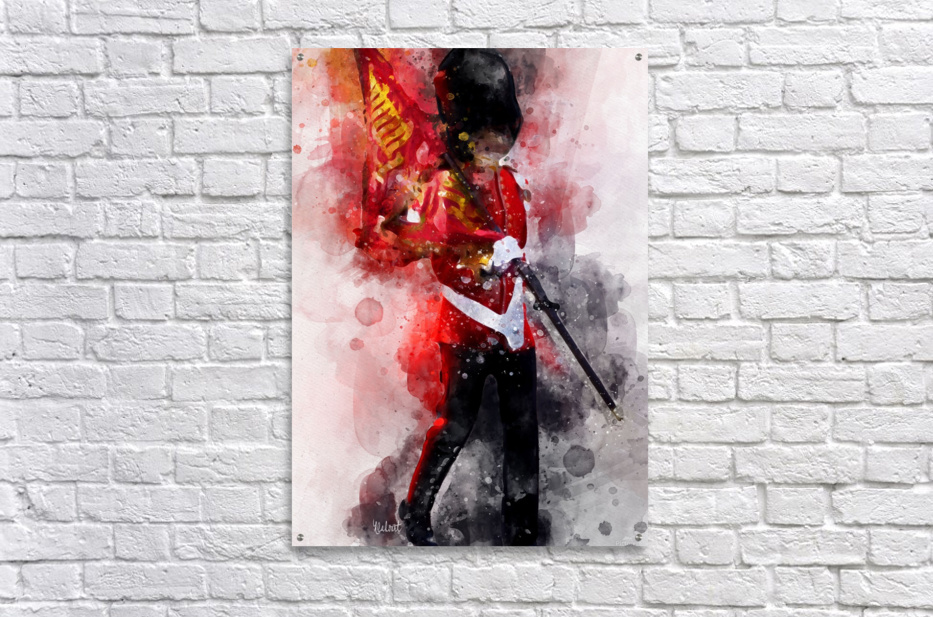 The Queens Guard  Acrylic Print