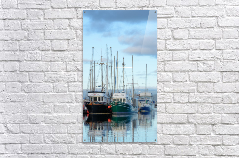 Fishers day off  Acrylic Print