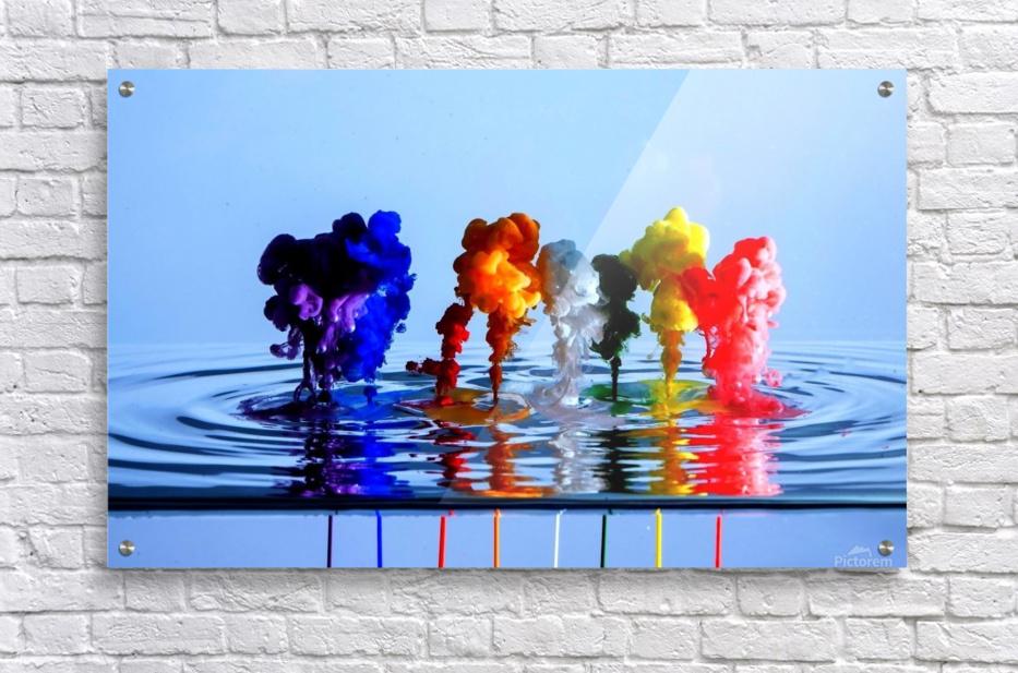 drizzles  Acrylic Print