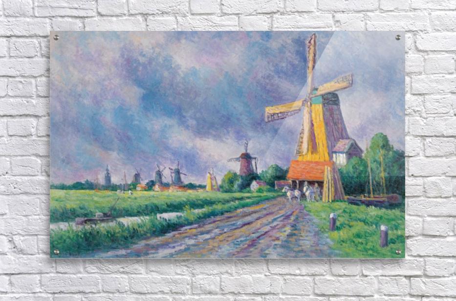 Outskirts of Rotterdam  Acrylic Print
