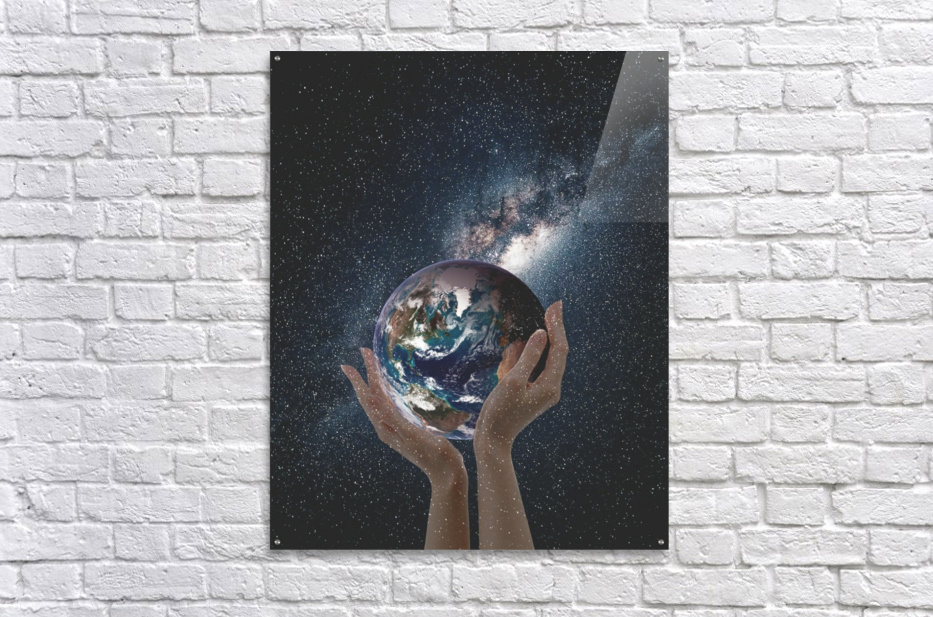 Mother Natures Hands  Acrylic Print