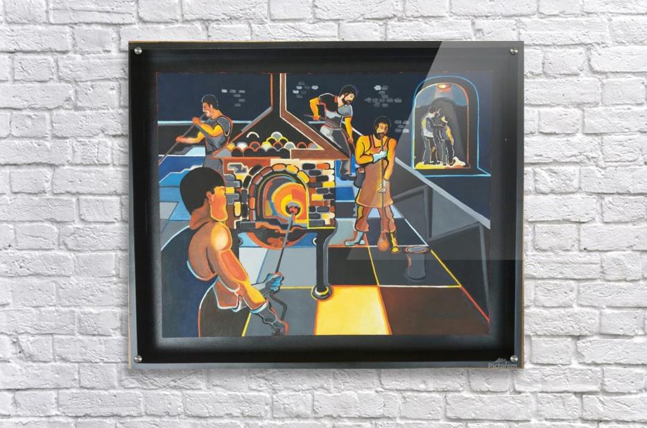La verrerie   Acrylic Print