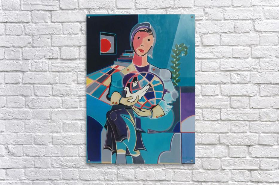 Sentinelle de la Paix  Acrylic Print