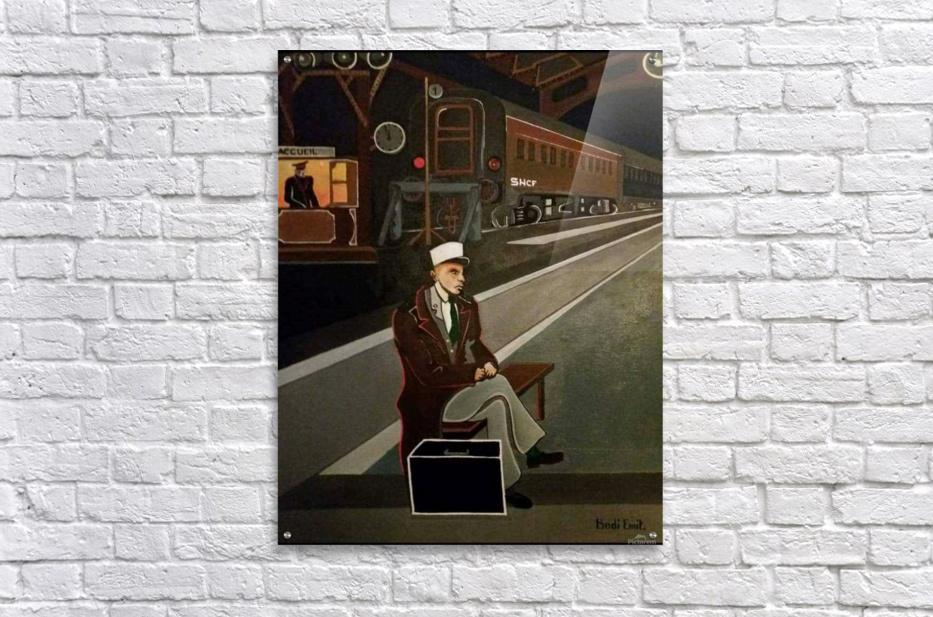 terminus de train  Acrylic Print