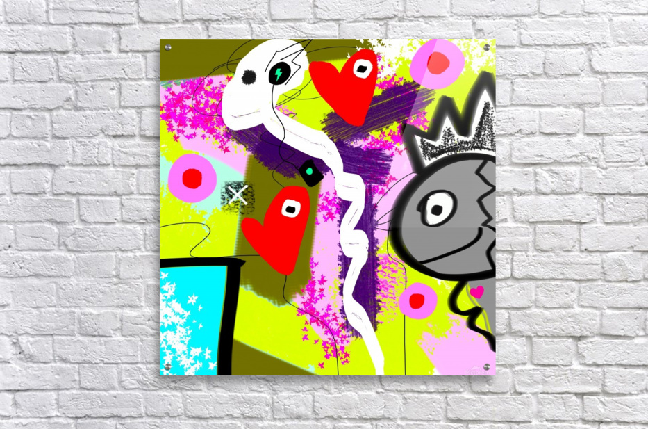 Music Ghost  Acrylic Print
