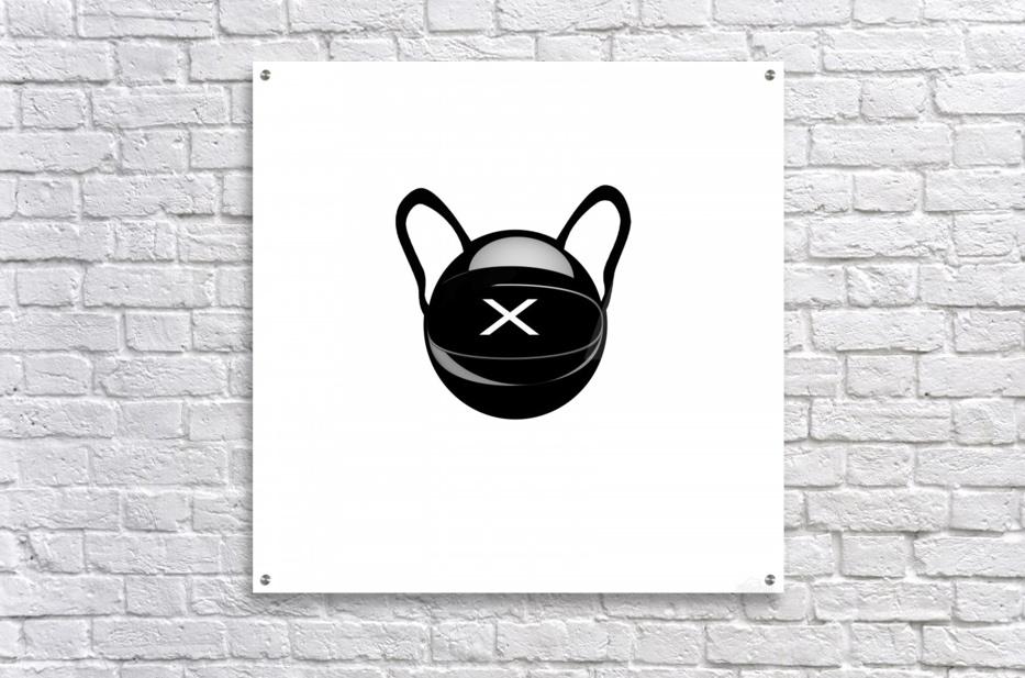Cozmo Black  Acrylic Print