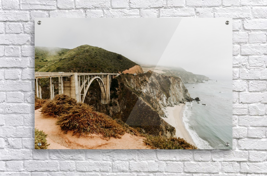 Bixby Bridge California  Impression acrylique