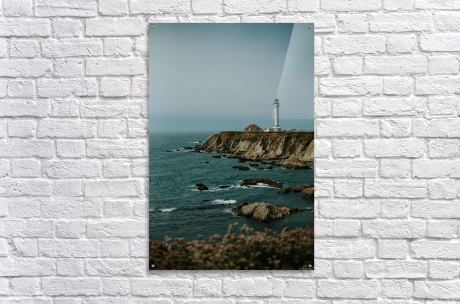 Point Arena Lighthouse California  Impression acrylique