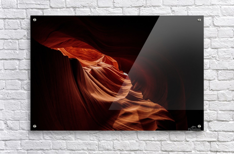 Antelope Canyon Arizona  Impression acrylique