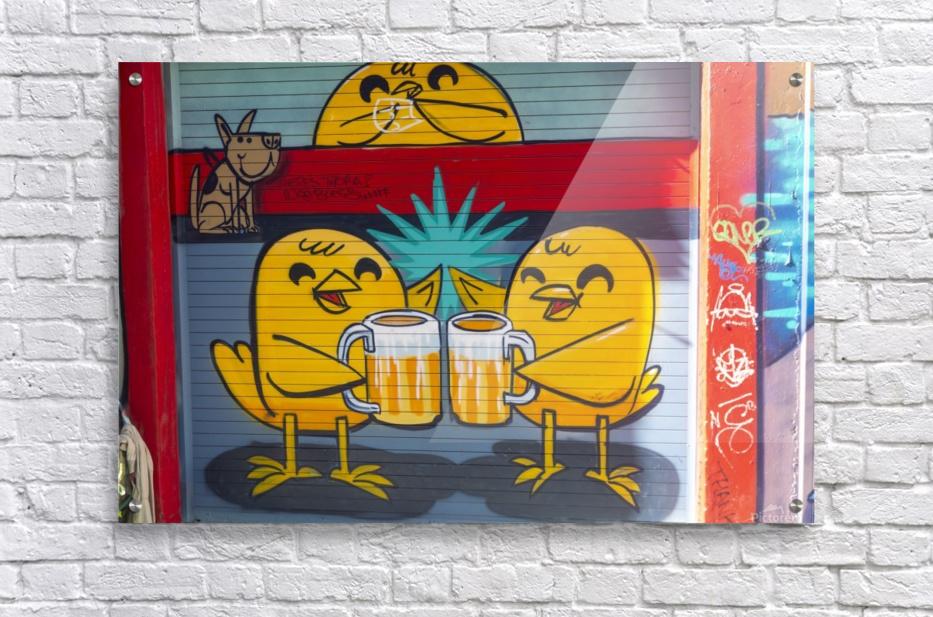 Torontos Graffiti Alley  61  Acrylic Print