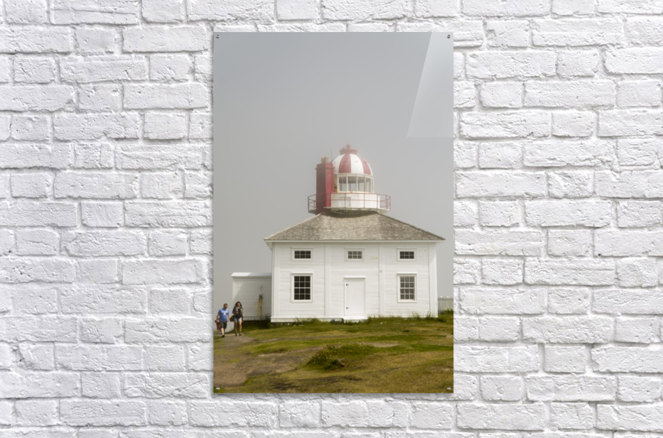 Original Cape Spear Lightkeepers house and light tower built in 1836 2  Acrylic Print