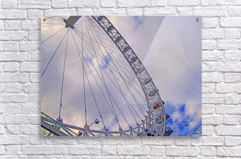 Looking up at The London Eye  Acrylic Print