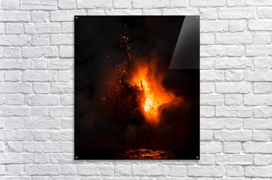 Lava explosion  Acrylic Print