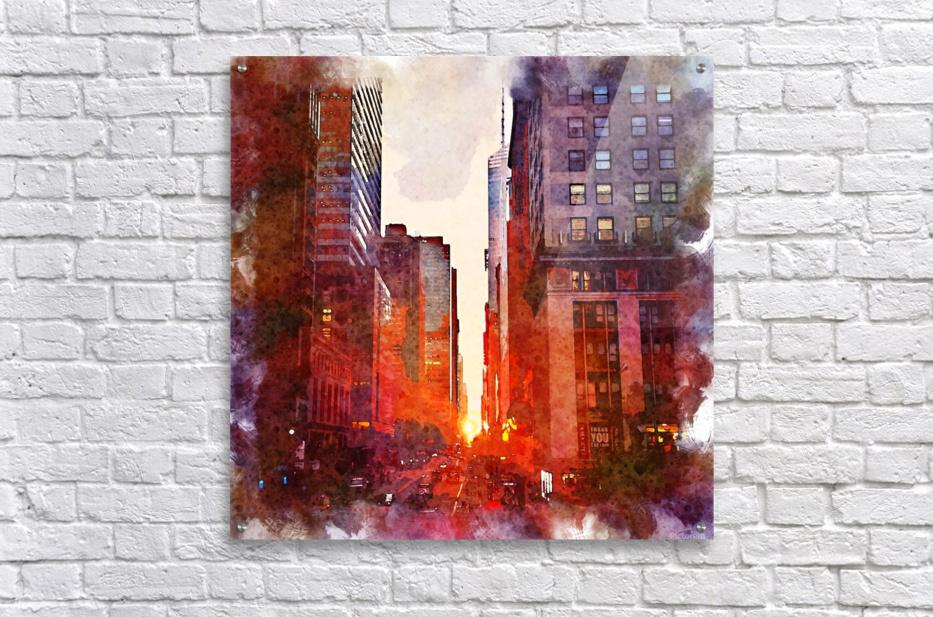 new york  Acrylic Print