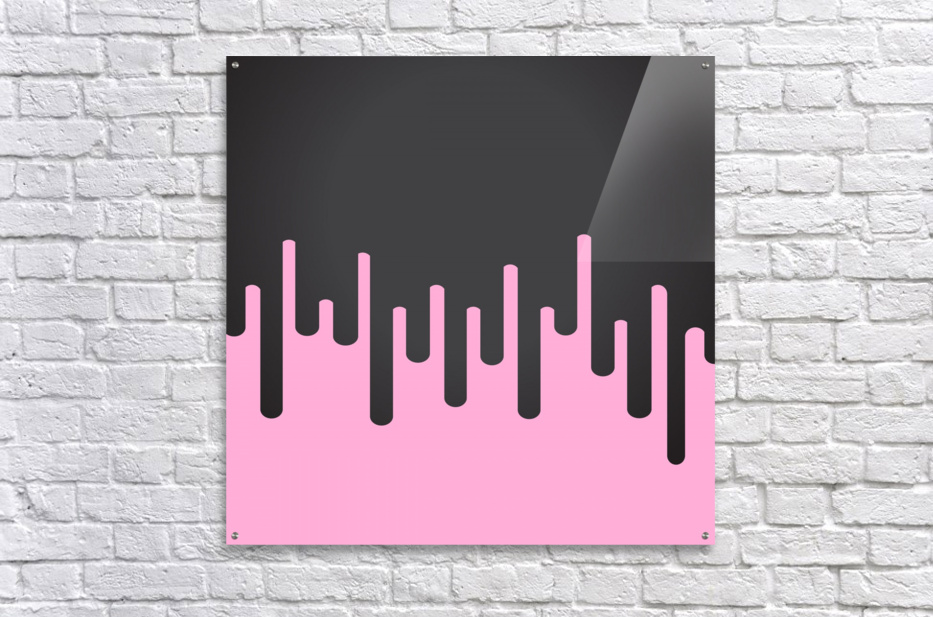 Candy Melting Tone  Acrylic Print
