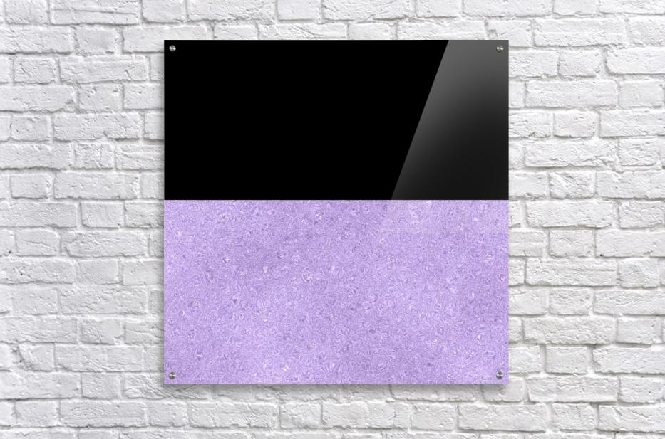 ABSTRACT PURPLE GLITTER  Acrylic Print