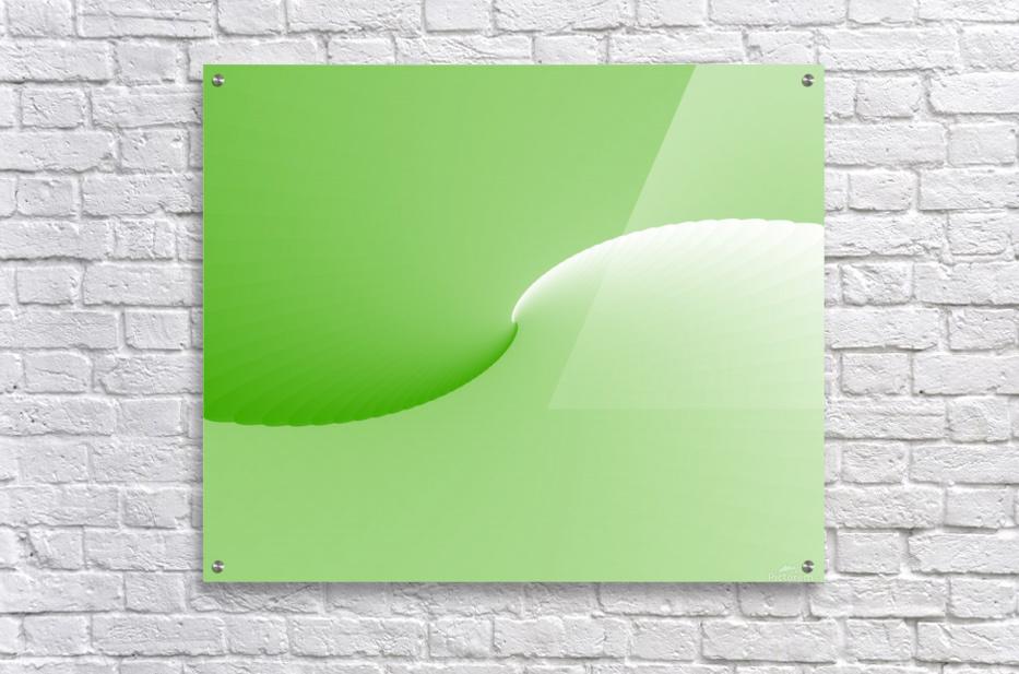 GREEN ABSTRACT  ORIGINAL  Acrylic Print