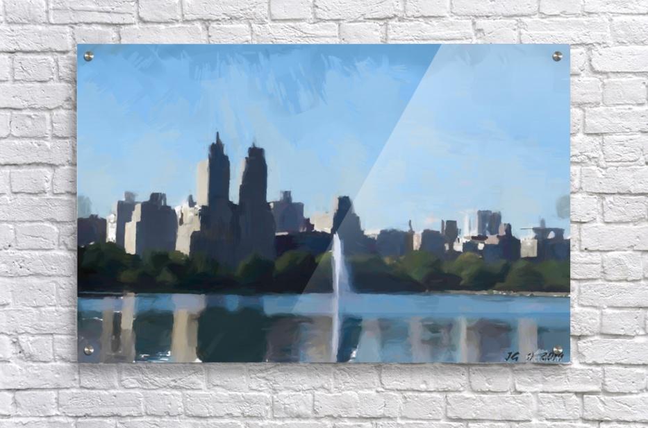 NY_CENTRAL PARK_View 070  Acrylic Print