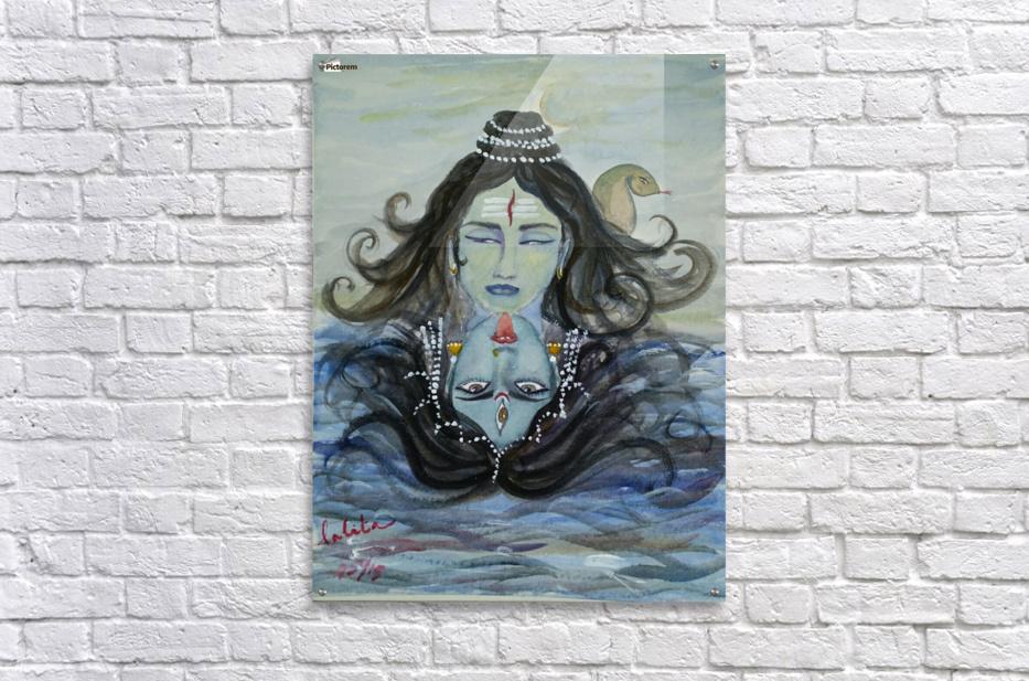 Shiva shakthi   Acrylic Print