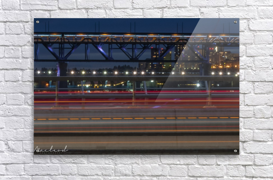 Walterdale_Bridge_NIK9897  Acrylic Print