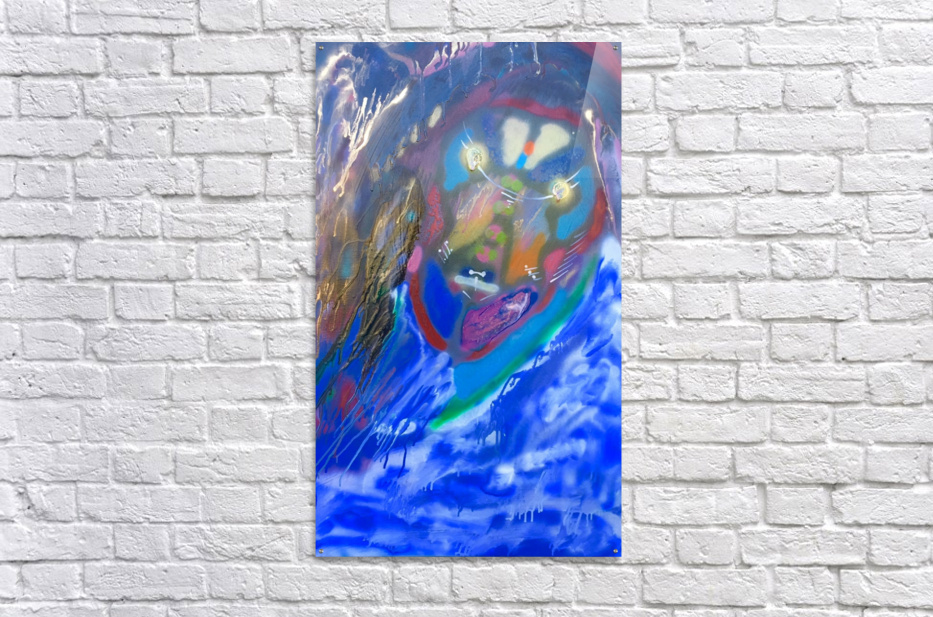 BLUE KING    Acrylic Print
