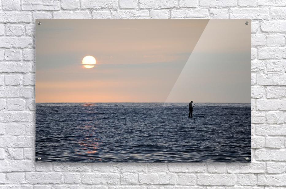 Sinking Sunset  Acrylic Print
