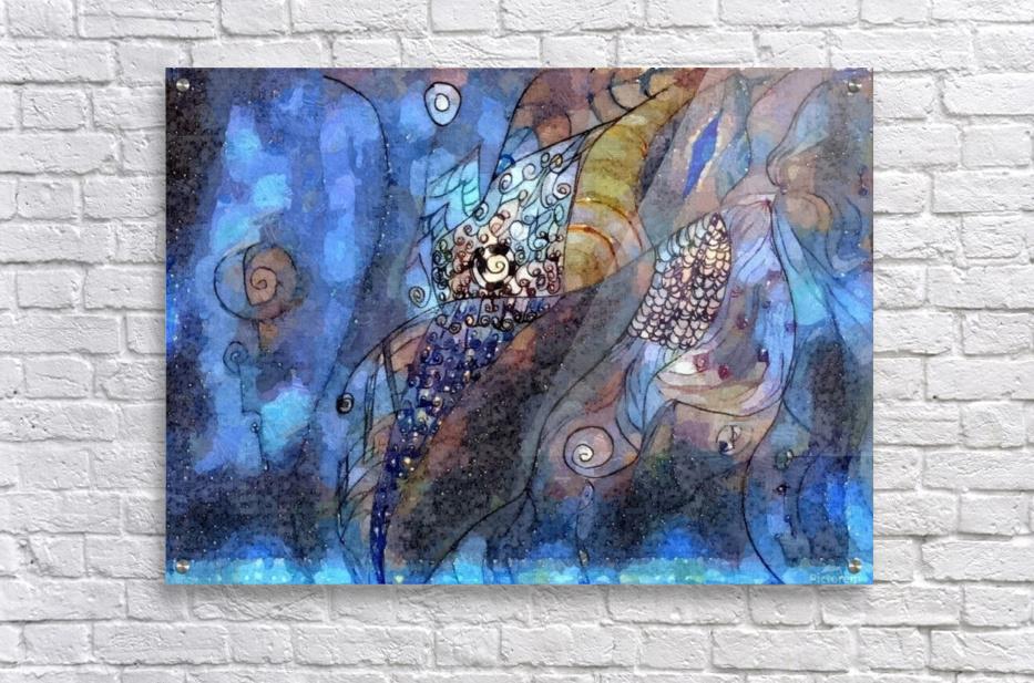 Blue Dimension  Acrylic Print